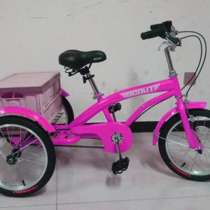 pink kids tricycle