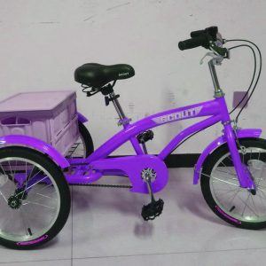 purple kids tricycle